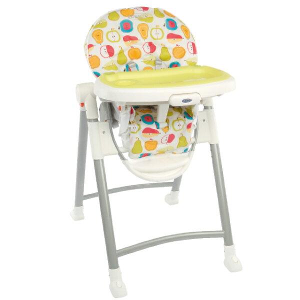 小奶娃婦幼用品:Graco-Contempo可調式高低餐椅水果王國