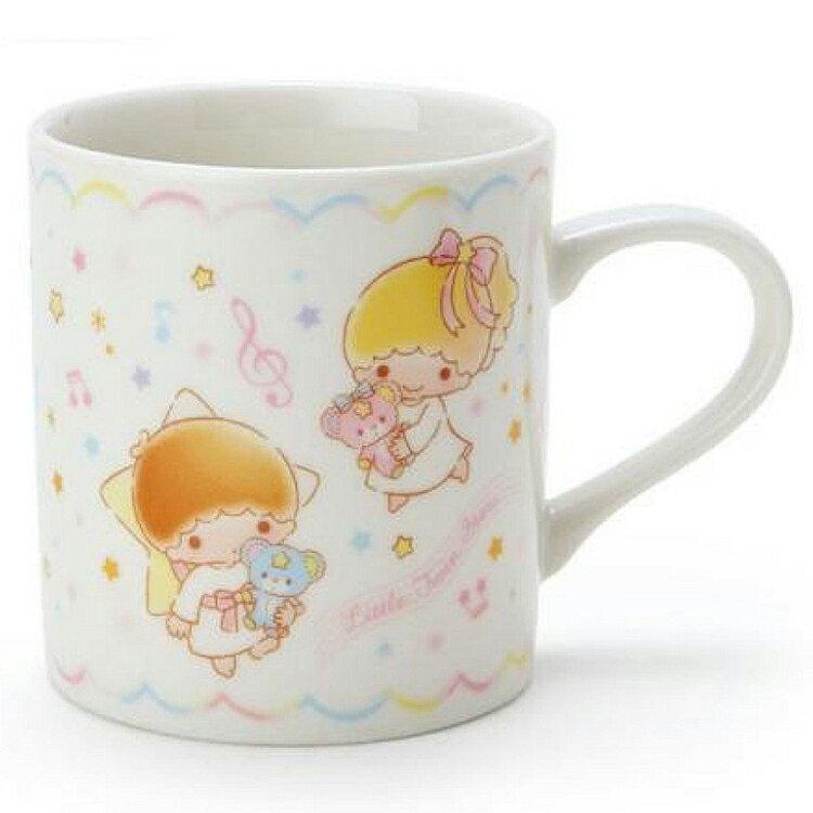 金正陶器 日本製 三麗鷗 雙子星陶瓷 馬克杯 星空 kiki lala 茶 飲料天使  日本進口正版 303714