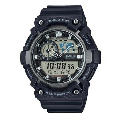CASIO 世界隨我行強悍有力運動腕錶/AEQ-200W-1AVDF