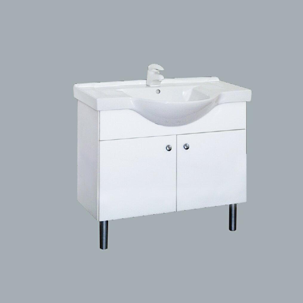 HCG臉盆浴櫃/不含水龍頭 /L4090SAdb+LCS4090B