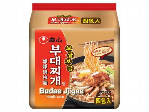 韓國 農心 部隊鍋拉麵(127gx4包)【小三美日】團購/泡麵◢D037797