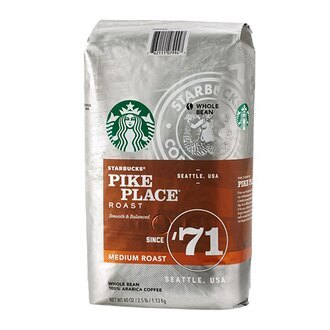 STARBUCKS 星巴克 派克市場咖啡豆 (1130g/包)