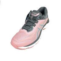 女性慢跑鞋到新品75折↘ASICS 女 GT-2000 6 高緩衝 支撐 亞瑟膠慢跑鞋 T855N-700 粉 灰[陽光樂活]就在陽光運動館推薦女性慢跑鞋