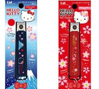 美樂蒂My Melody周邊商品推薦到日本製貝印HELLO KITTY指甲剪指甲刀櫻花和風紅283495藍283488
