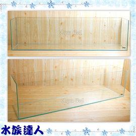 【水族達人】【水族箱魚缸】Mr.Aqua《A-730高透明度玻璃魚缸˙3尺---91*21*24》A730優質魚缸