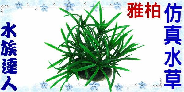 【水族達人】【造景裝飾】雅柏UP《7cm仿真水草.240072》假水草/ 仿真實水草精工製造 !