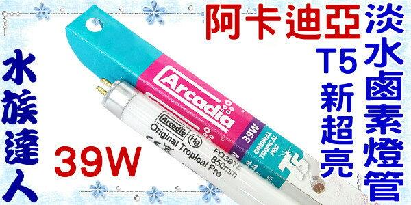 ~水族 ~~T5燈管~阿卡迪亞Arcadia~T5新超亮淡水鹵素燈管.39W~超明亮!