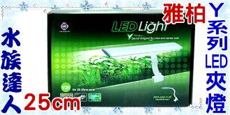 【水族達人】雅柏UP《Y系列LED夾燈˙25cm ˙PRO-LED-Y-25》白燈*48
