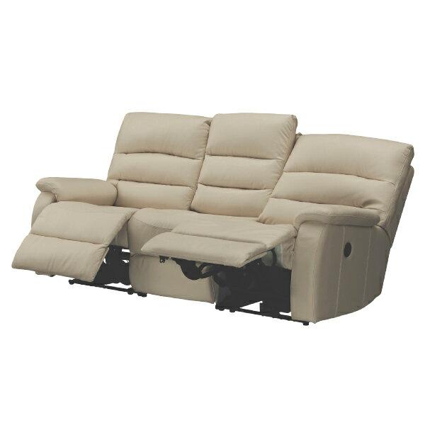 ◎(OUTLET)全皮3人用頂級電動可躺式沙發 BELIEVER MO 福利品 NITORI宜得利家居 1