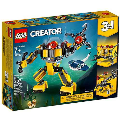 樂高LEGO 31090  Creator 三合一系列 - 水底機器人 - 限時優惠好康折扣