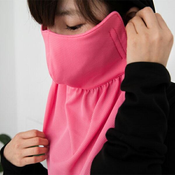 BO雜貨【SV6369】吸濕排汗護頸口罩 機車口罩 到肩口罩 機能布 防曬 防塵 防風 防水 透氣 舒適 男女成人