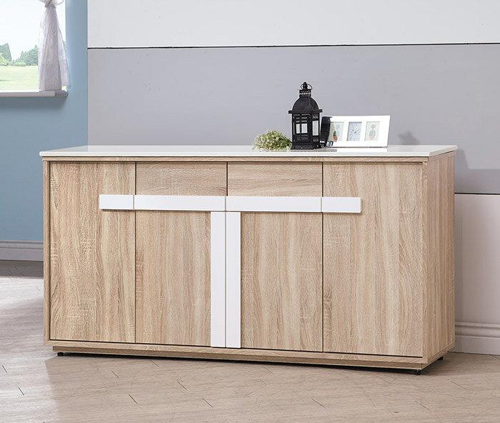~尚品傢俱~HY~A390~02 多莉絲5.2尺石面餐櫃