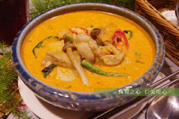 仁美良食:喜樂魚紅咖哩蔬食(370g包)