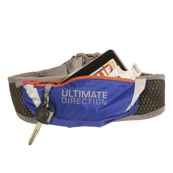 騎跑泳者FINISHER:騎跑泳勇者-MEOW靛藍口袋,紅鍊,黑腰帶.UltimateDirection世界第一越野馬拉松水壺背包