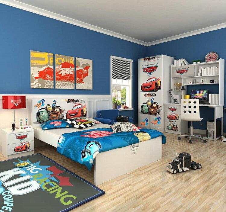 [首雅傢俬]MIT 迪士尼系列-麥坤 5尺 雙人床架 兒童床架