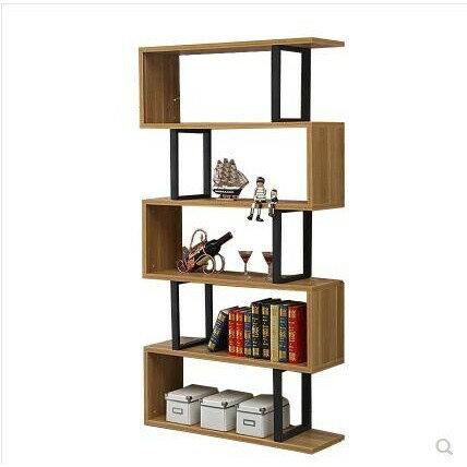 書櫃 簡約現代書架簡易書櫃辦公置物架落地客廳展示架隔斷櫃書房儲物架  MKS【全館免運 限時鉅惠】