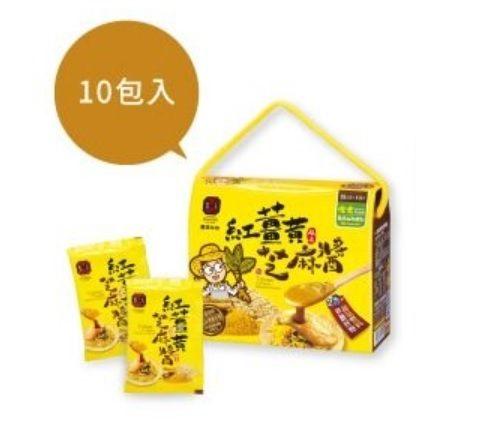 豐滿生技 紅薑黃芝麻醬 35g/單包