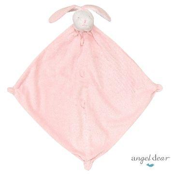 『121婦嬰用品館』美國Angel Dear 動物嬰兒安撫巾 粉兔AD1116(此商品售出不做退換) 0