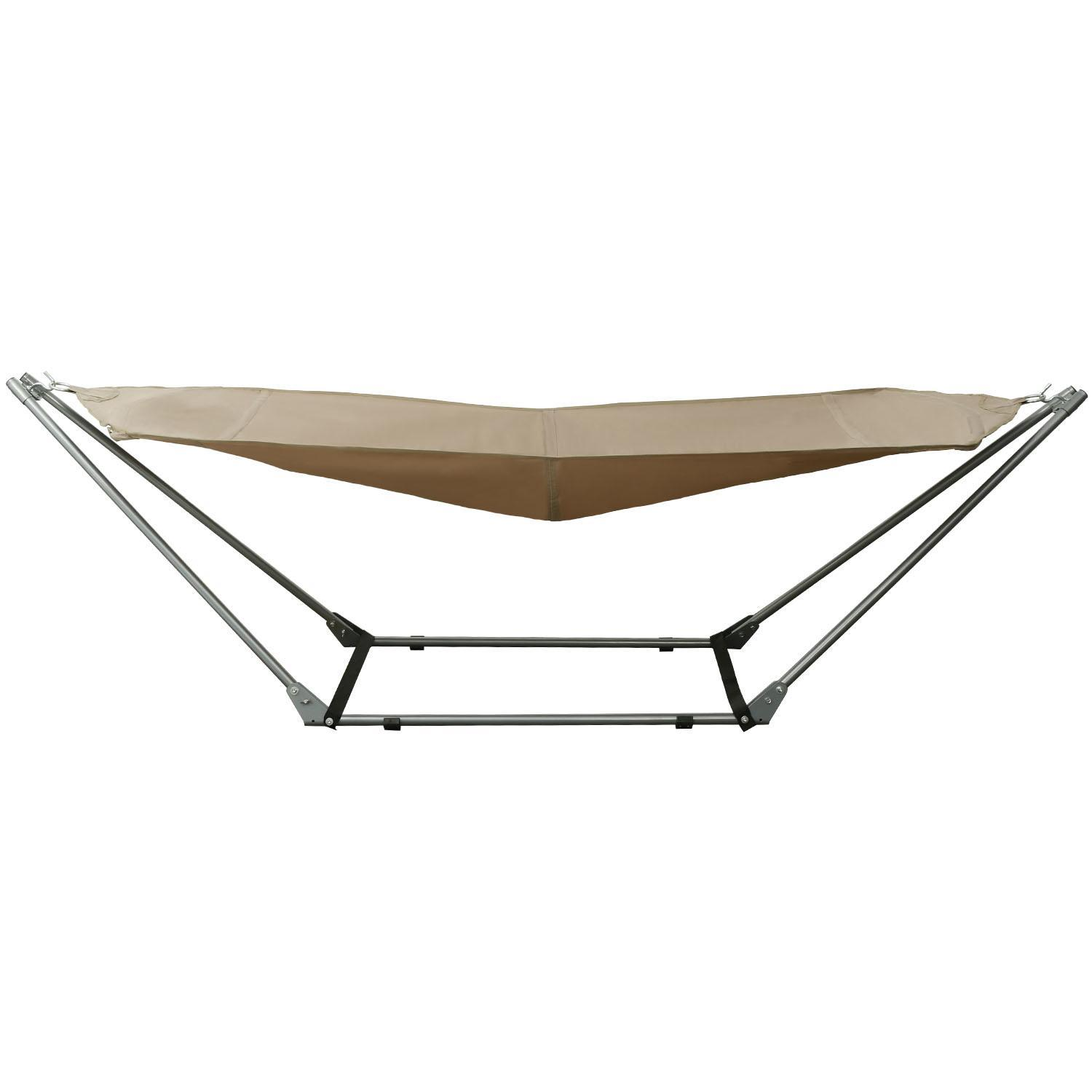 Foldable Adjustable Hammock Garden Beach With Carrying Bag 0
