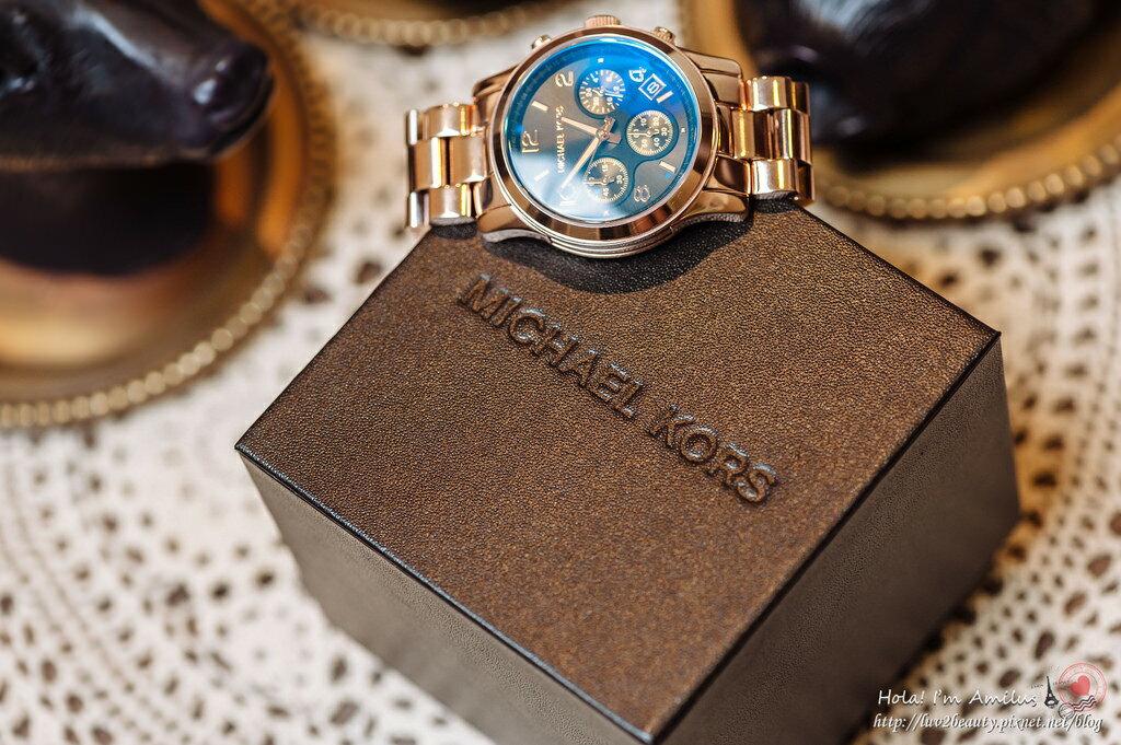 【限時8折 全店滿5000再9折】Michael Kors MK 迷幻漸層湛藍變色三眼腕錶手錶 MK5940 美國Outlet 美國正品代購 7