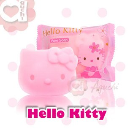 ☆HelloKitty☆凱蒂貓櫻花香氛造型香皂精油皂~伴手禮婚禮小物