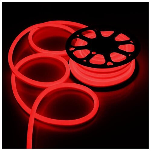 Delight 50 Ft Flex Led Neon Rope Light Party Decorative Valentine Lighting Red 0