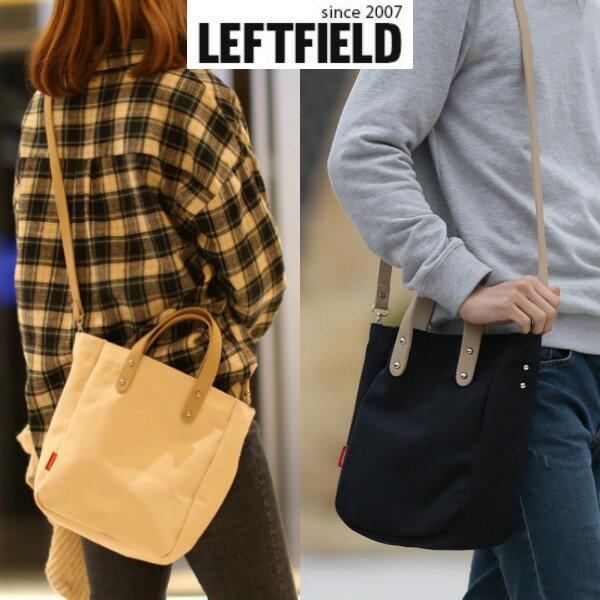 【韓國直送】手提包韓國LEFTFIELD簡約棉布多用包側背包肩背包斜背包NO.1325