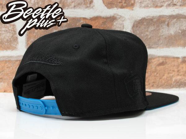 BEETLE MITCHELL&NESS SNAPBACK 聖安東尼奧 馬刺 黑藍 文字 LOGO 螢光 後扣棒球帽 MN-353 1