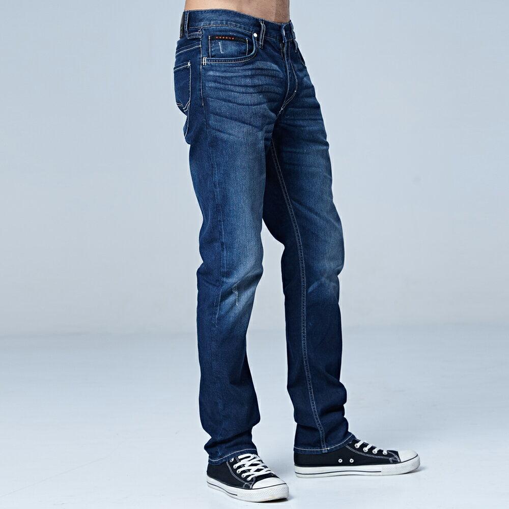 ❆涼感褲❆Lee 726 中腰舒適小直筒牛仔褲 Urban Riders Jade Fusion 男款 中深藍