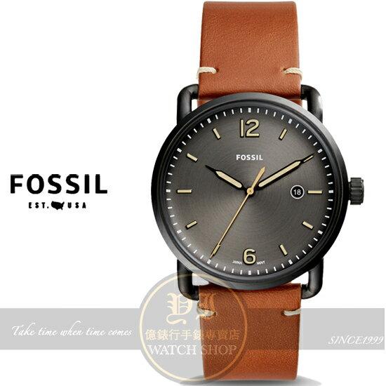 FOSSIL美國品牌都會型男簡約腕錶FS5276公司貨/禮物/型男必備