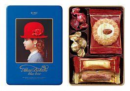 日本進口高帽子喜餅 藍帽5種禮盒(新)68g  現貨