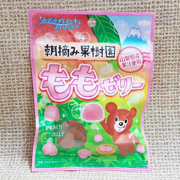 (日本)八仙製果水蜜桃軟糖1組2包(45g*2包)特價100元【4903089140451】