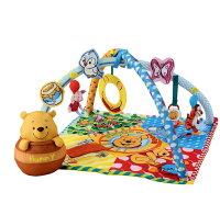 日本TAKARA TOMY 小熊維尼熊多功能嬰兒健力架/遊戲墊/布偶玩具/4904810439295 。共1色-日本必買 日本樂天代購(8140*1.8)。件件免運-日本樂天直送館-日本商品推薦