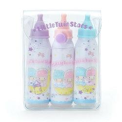 雙子星 奶瓶 型 筆組 三麗鷗 文具 造型筆 日貨 正版 授權 L00010446
