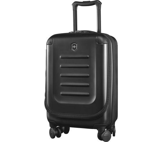 Victorinox 瑞士維氏 Spectra 2.0 可擴展輕巧全球適用 登機型 TRGE-601283 旅行箱 20吋 登機箱 黑 / 個