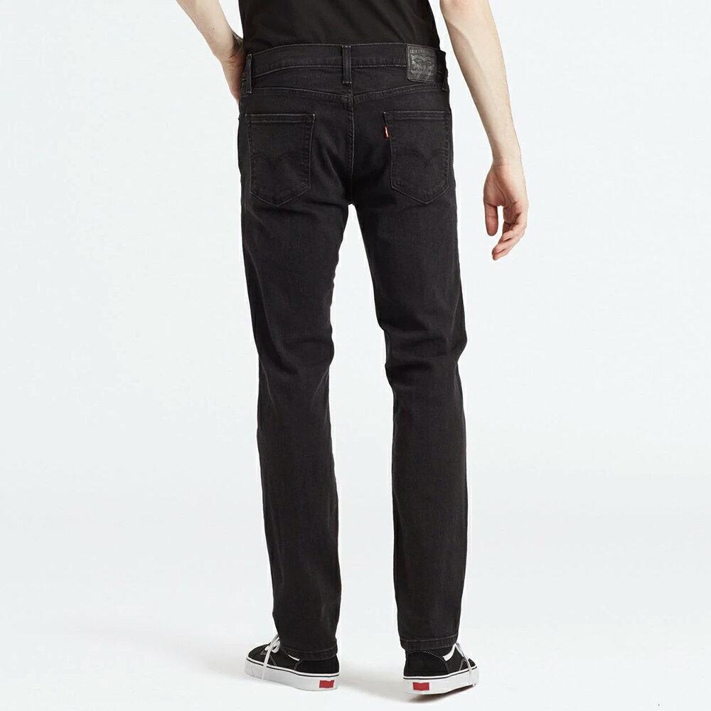Levis 男款 511 低腰修身窄管牛仔褲  /  黑色基本款  /  彈性布料 4