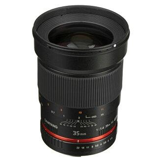 ◎相機專家◎ SAMYANG 35mm F1.4 AE for Canon EF 廣角鏡 手動鏡 正成公司貨