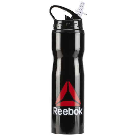 REEBOK METAL WATER BOTTLE 水壺 24oz 運動 黑 750ML【運動世界】BP8844
