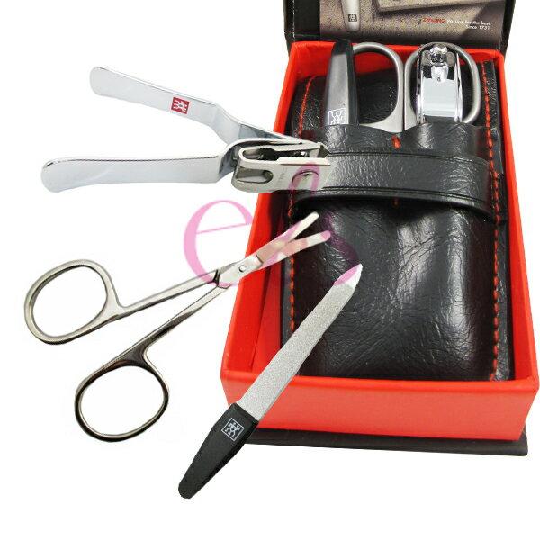 德國雙人牌 三件式(剪刀)修容禮盒 MS-323 ☆艾莉莎ELS☆