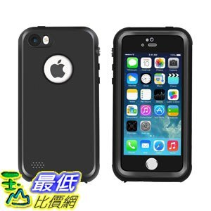 [107美國直購] 防水手機殼 Waterproof iPhone 5/5s/SE Case, Eonfine Shockproof Protective Full-sealed Hard Cover