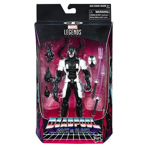 《漫威超級英雄》傳奇6吋收藏人物-死侍黑色版