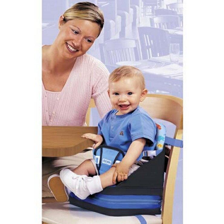 【寶貝樂園】the first years 攜帶型兒童充氣餐椅