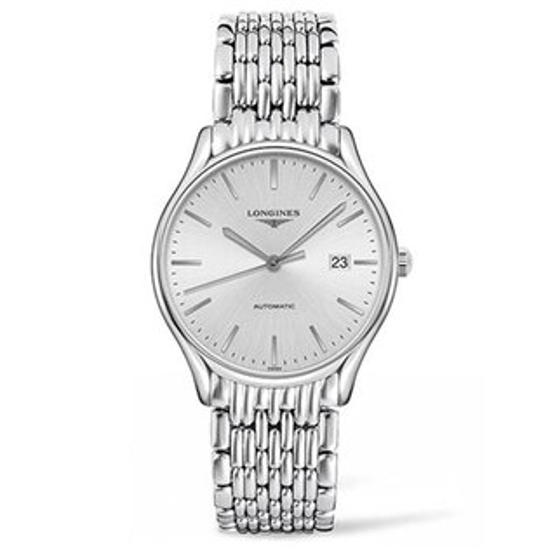 LONGINES浪琴表L49604726琴韻優雅時尚腕錶銀灰面38.5mm