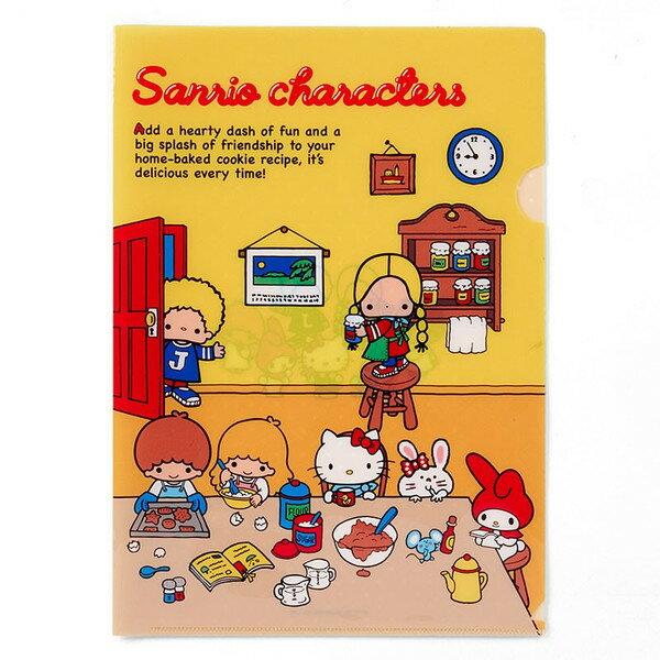 【真愛日本】16082000064A4文件夾-MX70s房間   三麗鷗 Hello Kitty 凱蒂貓   收納 辦公用品 資料夾