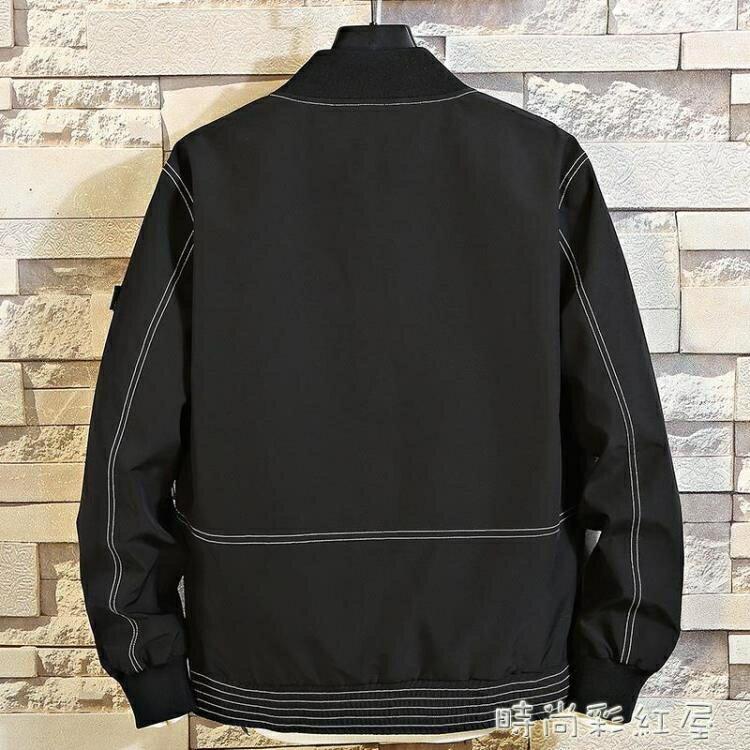 男士外套春季2020新款流行百搭帥氣棒球衣服韓版潮流春秋工裝夾克