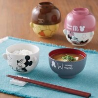 小熊維尼周邊商品推薦預購 迪士尼Disney米奇米妮維尼熊愛麗絲 茶碗湯碗組 陶瓷湯碗組