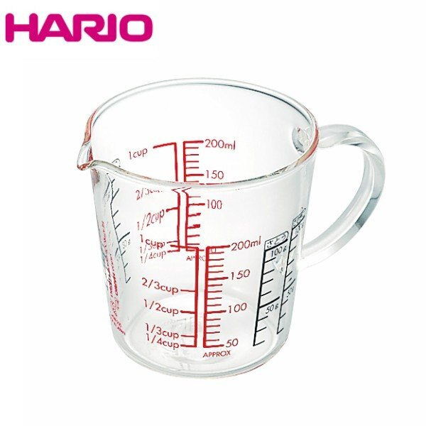 HARIO 玻璃把手量杯 CMJW-200 / CMJW-500