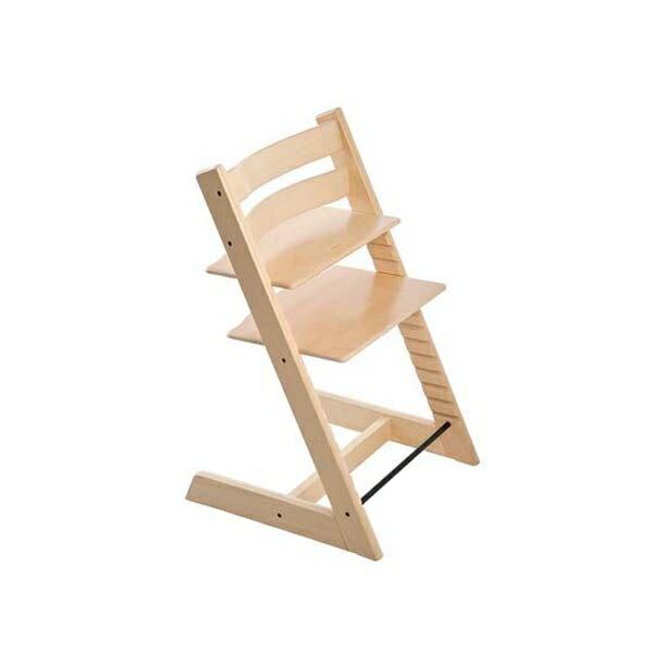 STOKKETrippTrapp®成長椅(櫸木天然色)餐椅