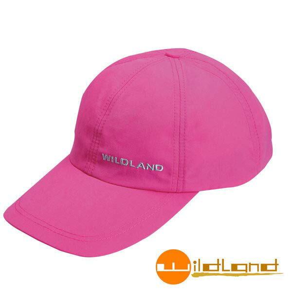 《台南悠活運動家》荒野 W1013-32中性抗UV透氣棒球帽 -深粉紅色