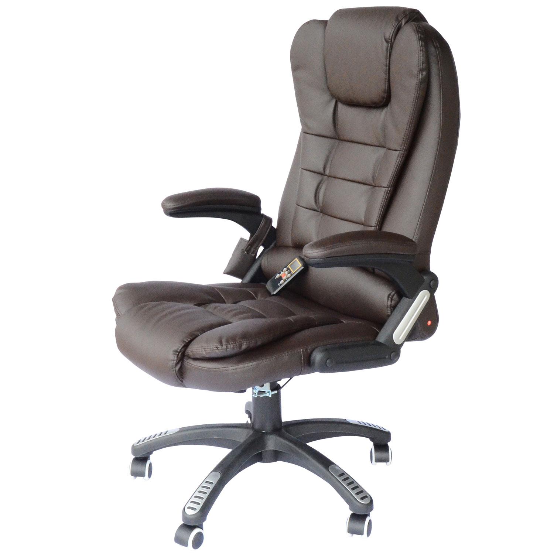 Aosom: HomCom High-Back Executive Ergonomic PU Leather Heated ... on heated chair cushion, vibration chair, heated chair mat, heated outdoor chair, bathroom chair, vibrating gaming chair, heated clinical chair, china chair, heated back massager for chairs, heated chair cover, heated seat pads for chairs, heated folding chair, heated recliner chairs, heated ergonomic chair, heated bean bag chair, heated desk chair pad, heated massage chair, person on a vibrating chair, heated camp chair, heated lounge chair,
